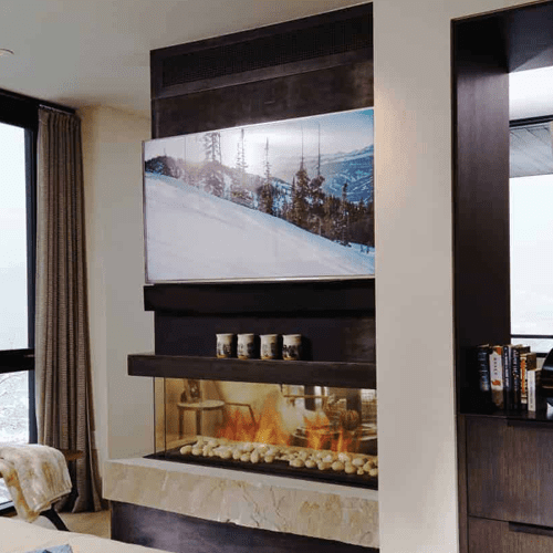 Ortal Space Creator 120 Gas Fire
