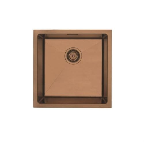 Mercer Single Bowl Sink - Copper Colour