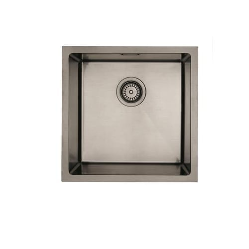 Mercer Aurora Single Bowl Sink - Gunmetal Colour