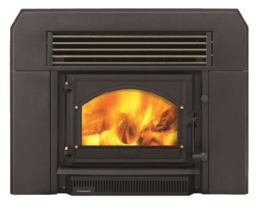Firenzo Forte Flush Wood Fire