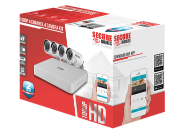 Secure Homes 4 Camera Home Security Kit