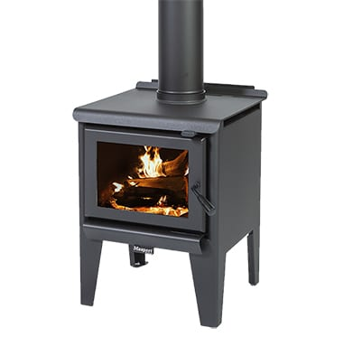 Masport R1200 Leg Radiant Wood Burner