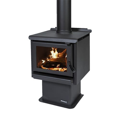 Masport R1200 Ped Radiant Wood Burner