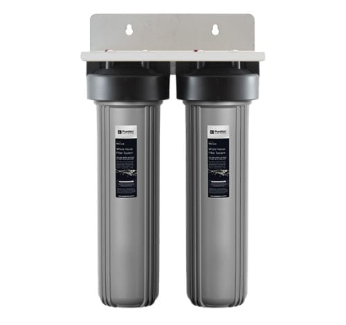Puretec EM2-150 Whole House Dual Water Filtration System 20""