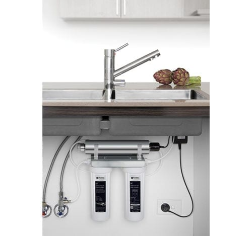 Puretec ESR2-T1 Undersink UV Filter System with Tripla T1 Mixer Tap