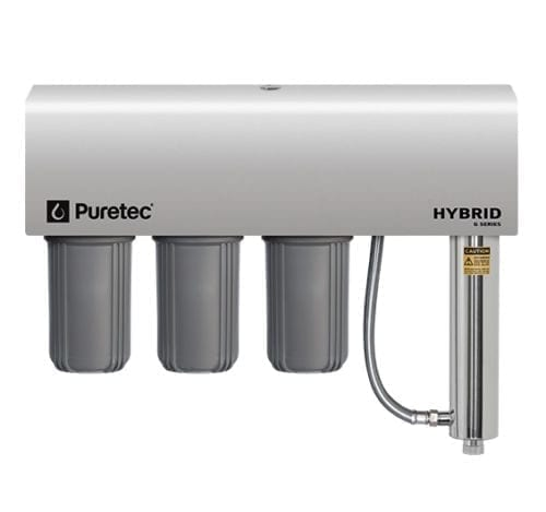 Puretec Hybrid-G12 Triple Filtration and Ultraviolet All in One Unit