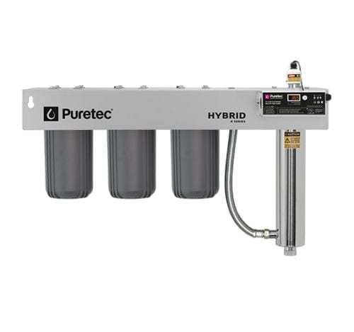 Puretec Hybrid-R10 Triple Filtration and Ultraviolet all in one Unit 10""