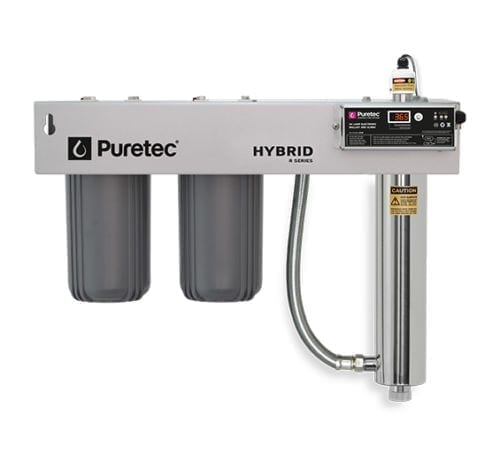 Puretec Hybrid-R3 Filtration and UV all in one with Reversible Bracket