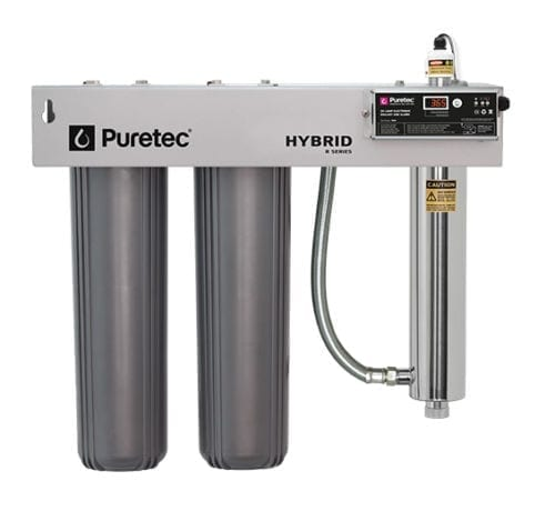 Puretec Hybrid-R4 Filtration and UV all in one unit with Reversible Bracket
