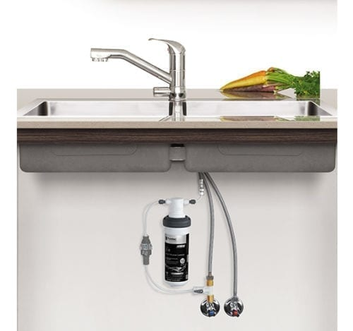 Puretec Z1-T2 Quick Twist Undersink Filter with Tripla™ T2 LED Mixer Tap