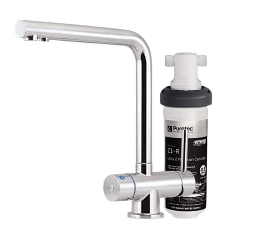 Z1-T6 Quick Twist Undersink Filter with Tripla™ T6 LED Mixer Tap