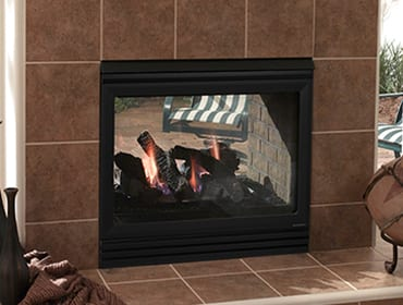 Heat & Glo Twilight Indoor/Outdoor Gas Fire