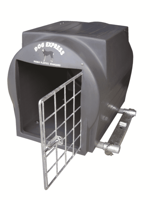 Promax Dog Express Traveller Tow Ball Mounted Kennel