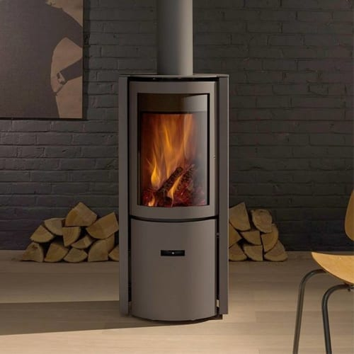 Stuv 30 Compact One Freestanding Wood Fire & Flue Package