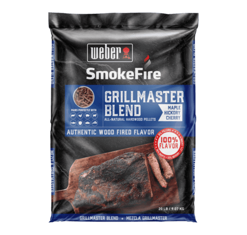 Weber GrillMaster Blend All-Natural Hardwood Pellets 9 kg
