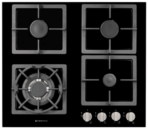 Parmco Hob 600mm Black glass