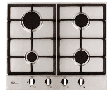 Parmco Hob, 600mm, Stainless Steel, 4 Gas