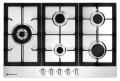 Parmco Hob, 770mm, Stainless Steel, 4 Gas + Wok