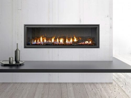 Heat & Glo Mezzo Series Gas Fire Package