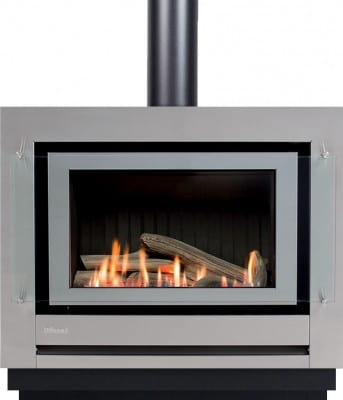 rinnai neo freestanding console gas fire turfrey gas