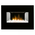 Dimplex Clova Black 2kW Wall Mounted Electric Fire with Optiflame