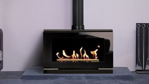 Gazco Riva Vision Freestanding Gas Fire Package
