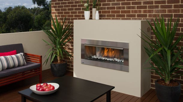 Regency Horizon HZO42 Outdoor Gas Fire | Turfrey Outdoor Fires