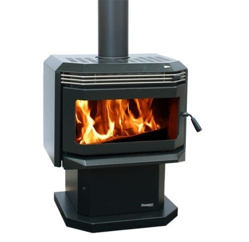 Masport Hestia Freestanding Convection Fireplace