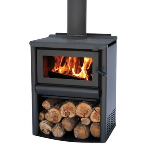Masport R1500 Wood Stacker Freestanding Radiant Fire