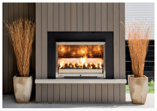 Jetmaster Broff Flueless Outdoor Gas Fire