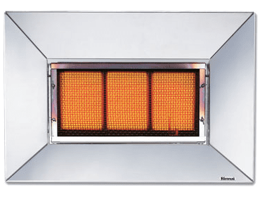 Rinnai Indoor Super Ray Radiant Heater
