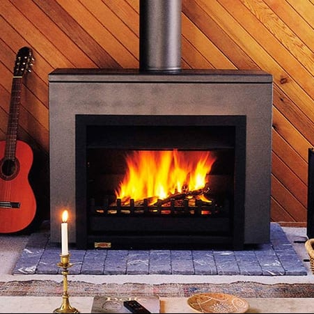 Jetmaster 700d Freestanding Wood Fire Package Turfrey