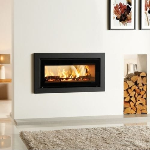Stovax Studio 2 Duplex Rural Inbuilt Wood Fire